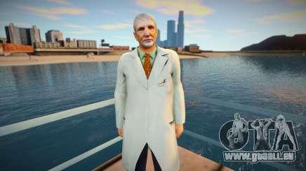 scientifique pour GTA San Andreas