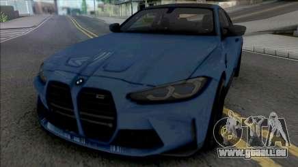 BMW M4 Competition 2021 pour GTA San Andreas