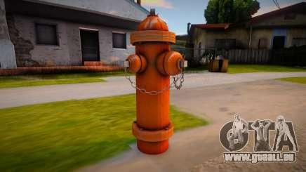 HQ Hydrant pour GTA San Andreas