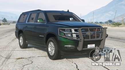 Chevrolet Suburban LTZ 2015〡Armored〡Secret Service〡add-on v1.1 pour GTA 5