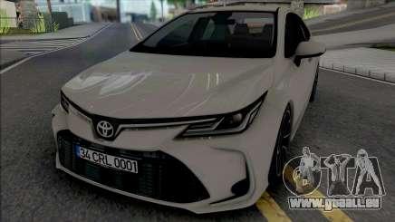 Toyota Corolla 2020 Hybrid für GTA San Andreas