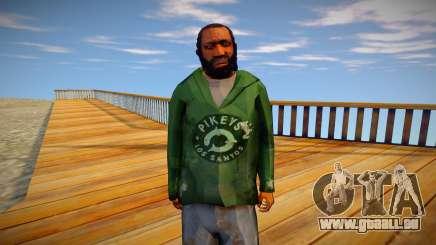 Homme sans-abri de GTA 5 v9 pour GTA San Andreas