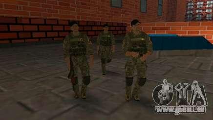 Officier du FSB CSN AntiterrOR pour GTA San Andreas