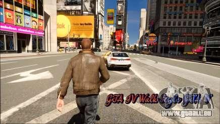 GTA IV Walk Style GTA V pour GTA 4