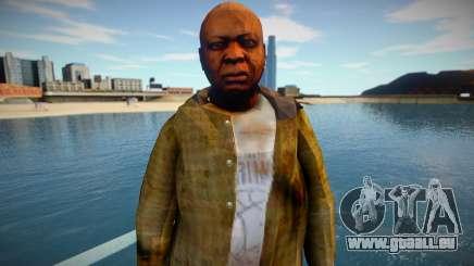 Homme sans-abri de GTA 5 v3 pour GTA San Andreas