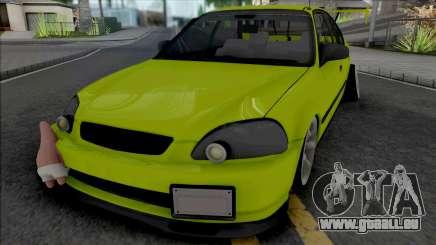 Honda Civic 1.6 iES Yellow für GTA San Andreas