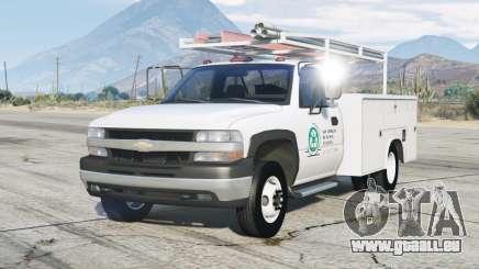 Chevrolet Silverado 1999〡Utility Truck pour GTA 5