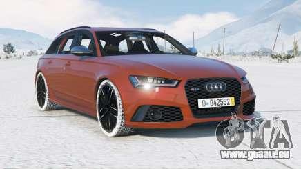 Audi RS 6 Avant (C7) 2015〡add-on pour GTA 5