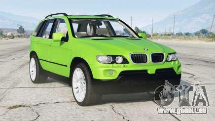BMW X5 4.8is (E53) 2005〡add-on v1.1 pour GTA 5