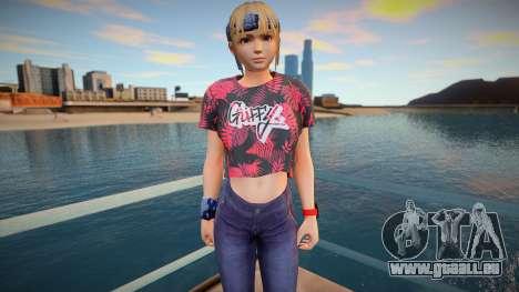 DOA Marie Rose Fashion Casual V1 für GTA San Andreas