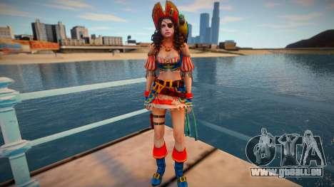 Jill Pirate pour GTA San Andreas