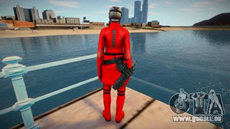 Bertha Red Resident Evil Operation Raccoon City pour GTA San Andreas
