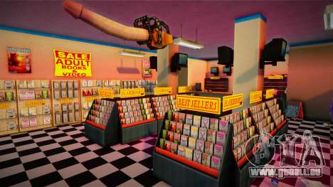 Sex Shop Interior HD pour GTA San Andreas