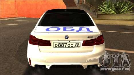 BMW M5 F90 Bulkin Edition V2 pour GTA San Andreas