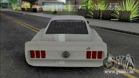 Ford Mustang RTR-X (SA Lights) für GTA San Andreas