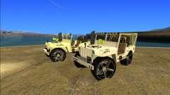 Punjabi Jeep Willy Mod par Harinder Mods
