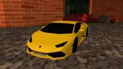 Lamborghini Huracan RUS Plates