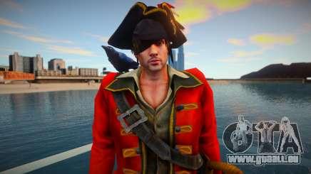 Leon Kennedy Pirate pour GTA San Andreas