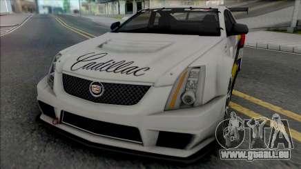 Cadillac CTS-V Coupe 2011 Race Car pour GTA San Andreas