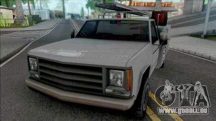 Improved Utility Van pour GTA San Andreas