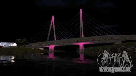 Pont rockshore pour GTA San Andreas