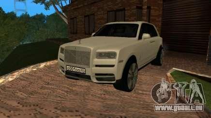 Rolls-Royce Cullinan RUS Plates pour GTA San Andreas