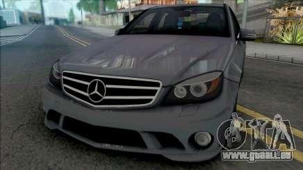 Mercedes-Benz C63 AMG (W204) 2010 [IVF VehFuncs] für GTA San Andreas