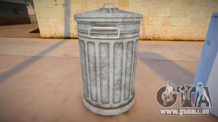 HQ Trash Bin pour GTA San Andreas