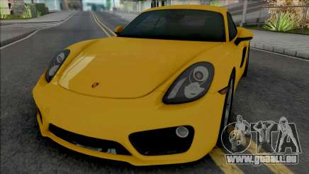 Porsche Cayman S (SA Lights) pour GTA San Andreas