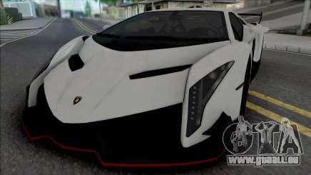 Lamborghini Veneno (SA Lights) pour GTA San Andreas