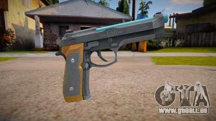 RE2: Remake - Samurai Edge Colt v4 für GTA San Andreas