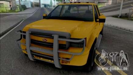 GTA V Vapid Sadler [VehFuncs] pour GTA San Andreas
