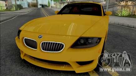 BMW Z4 M Coupe 2008 [IVF ADB VehFuncs] für GTA San Andreas