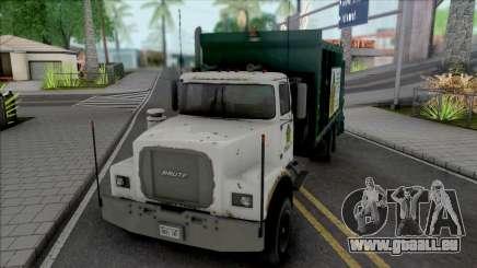 GTA V Brute Tipper Trash für GTA San Andreas