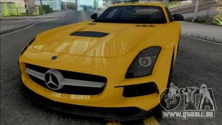 Mercedes-Benz SLS AMG Black Series (SA Lights) für GTA San Andreas