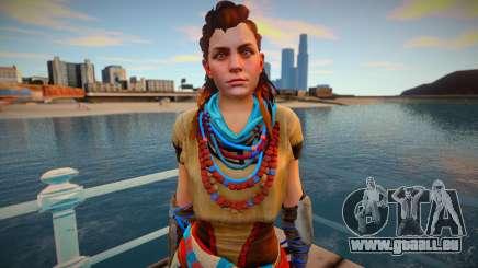 Aloy from Horizon Zero Dawn pour GTA San Andreas