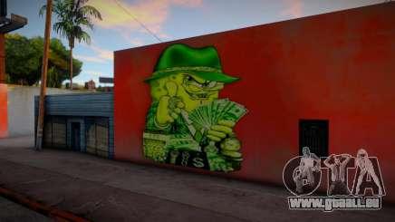 Gangster Spongebob Graffiti pour GTA San Andreas