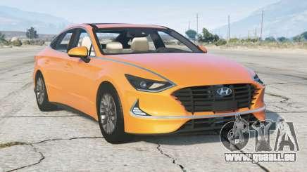 Hyundai Sonata (DN8) 2019 v2.0 pour GTA 5
