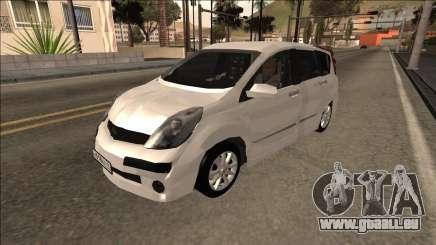 2007 Nissan Note für GTA San Andreas