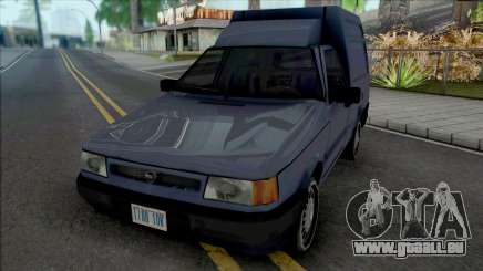 Fiat Fiorino Van [VehFuncs] für GTA San Andreas