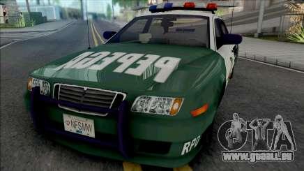 Police Civic Cruiser Pepega für GTA San Andreas