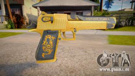 Desert Eagle Mark XIX (good model) pour GTA San Andreas
