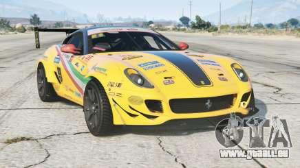 Ferrari 599 GTB Fiorano 2007〡Formula Drift〡add-on pour GTA 5