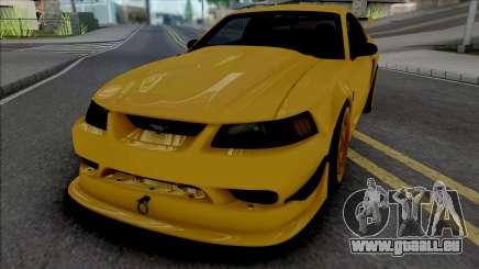 Ford Mustang SVT Cobra R 2000 [IVF ADB VehFuncs] pour GTA San Andreas