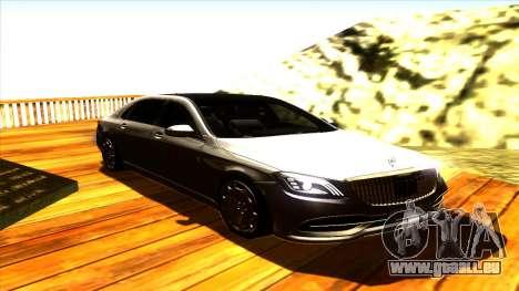 Mercedes Maybach s65 pour GTA San Andreas
