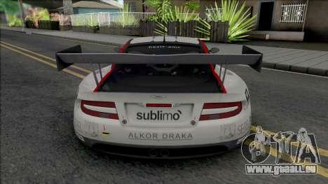 Aston Martin DBRS9 (NFS Shift 2) pour GTA San Andreas
