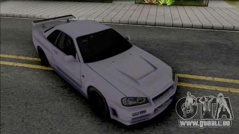 Nissan Skyline GT-R Nismo S-Tune [Fixed] pour GTA San Andreas