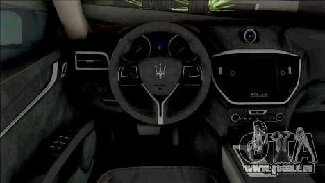 Maserati Ghibli III Taxi pour GTA San Andreas
