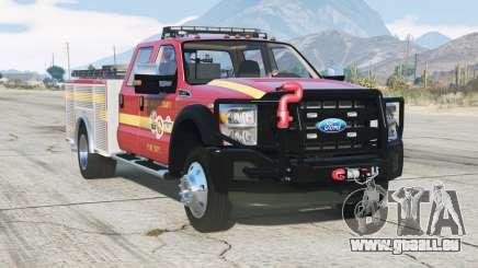 Ford F-450 Super Duty Crew Cab Utility Fire Truck 2013 für GTA 5