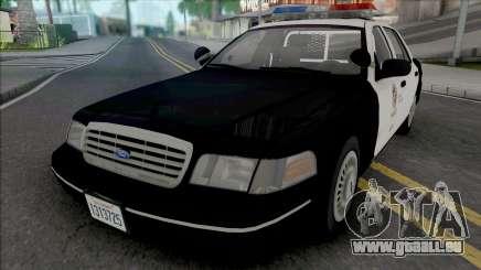 Ford Crown Victoria 1998 CVPI LAPD v2 pour GTA San Andreas